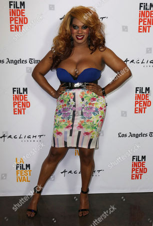 """Stock Picture of Roxy Wood arrives at the Los Angeles Film Festival world premiere of """"Anything"""", in Santa Monica, Calif"""