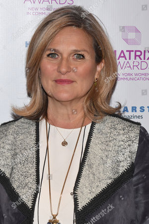 Cynthia McFadden attends the Matrix Awards, hosted by New York Women in Communications, at the Sheraton Times Square, in New York