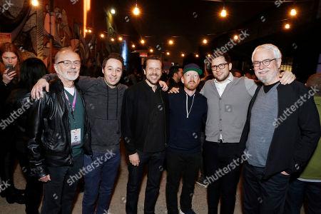 Dan Weiner, Matt Galle, Tom Windish, Sam Hunt, Ben Weiss and Greg Bestick seen at the 2017 Paradigm Pollstar Live! Party, in Los Angeles, CA