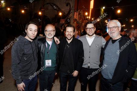 Matt Galle, Dan Weiner, Tom Windish, Ben Weiss and Greg Bestick seen at the 2017 Paradigm Pollstar Live! Party, in Los Angeles, CA
