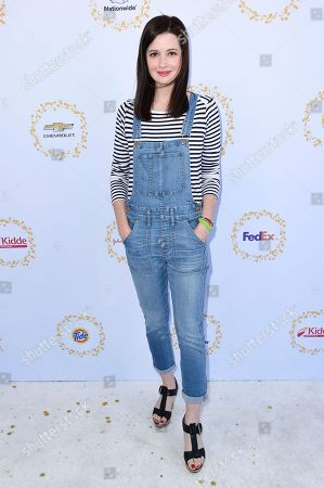 Jennifer Marsala attends the 2017 Safe Kids Day held at Smashbox Studios, in Culver City, Calif