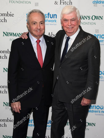 Lorne Michaels, left, and Chris Dodd, attend the SeriousFun Children's Network Gala at Pier Sixty, in New York