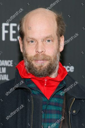 """Actor and singer and songwriter Will Oldham, also known as Bonnie """"Prince"""" Billy, poses at the premiere of """"A Ghost Story"""" during the 2017 Sundance Film Festival, in Park City, Utah"""