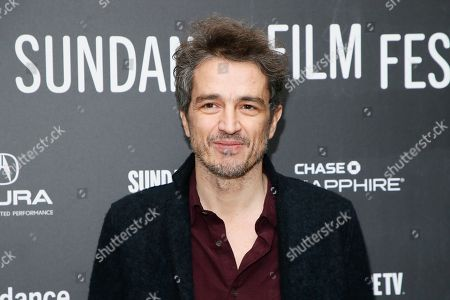 """Editor Walter Fasano poses at the premiere of """"Call Me By Your Name"""" during the 2017 Sundance Film Festival, in Park City, Utah"""