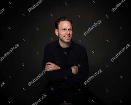 """Writer/director Matt Ruskin poses for a portrait to promote the film, """"Crown Heights"""", at the Music Lodge during the Sundance Film Festival, in Park City, Utah"""