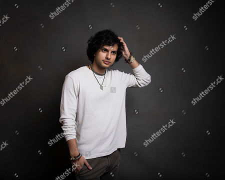 """Director Amman Abbasi poses for a portrait to promote the film, """"Dayveon,"""" at the Music Lodge during the Sundance Film Festival, in Park City, Utah"""