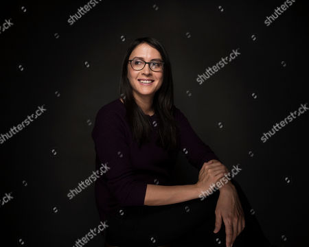 """Stock Image of Director Sydney Freeland poses for a portrait to promote the film, """"Deidra & Laney Rob a Train"""", at the Music Lodge during the Sundance Film Festival, in Park City, Utah"""