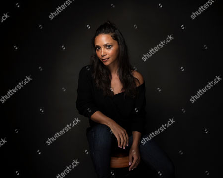 "Actress Danielle Nicolet poses for a portrait to promote the film, ""Deidra & Laney Rob a Train"", at the Music Lodge during the Sundance Film Festival, in Park City, Utah"