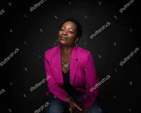 "Stock Image of Actress Lily Mojekwu poses for a portrait to promote the series, ""I Love Dick"", at the Music Lodge during the Sundance Film Festival, in Park City, Utah"