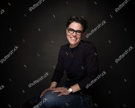 "Writer Sarah Gubbins poses for a portrait to promote the series, ""I Love Dick"", at the Music Lodge during the Sundance Film Festival, in Park City, Utah"