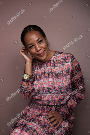 """Writer/director Maggie Betts poses for a portrait to promote the film, """"Novitiate"""", at the Music Lodge during the Sundance Film Festival, in Park City, Utah"""