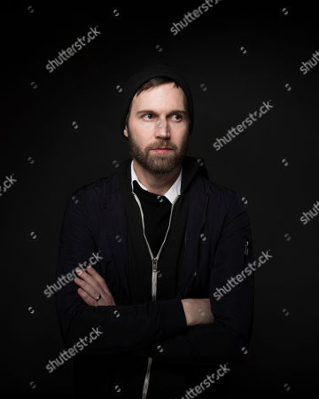 "Writer/director Shawn Christensen poses for a portrait to promote the film, ""Sidney Hall"", at the Music Lodge during the Sundance Film Festival, in Park City, Utah"