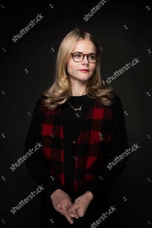 """Executive producer Julia Willoughby Nason poses for a portrait to promote the series, """"TIME: The Kalief Browder Story"""", at the Music Lodge during the Sundance Film Festival, in Park City, Utah"""