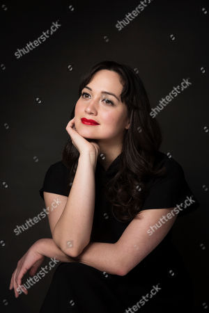 """Actress Lily Gladstone poses for a portrait to promote the film, """"Walking Out,"""" at the Music Lodge during the Sundance Film Festival, in Park City, Utah"""