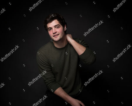 """Actor Ben Winchell poses for a portrait to promote the film, """"When The Street Lights Go On"""", at the Music Lodge during the Sundance Film Festival, in Park City, Utah"""