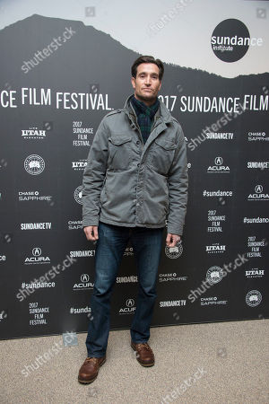 """Stock Picture of Actor Matthew Del Negro poses at the premiere of the film """"Wind River"""" at the Eccles Theatre during the 2017 Sundance Film Festival, in Park City, Utah"""