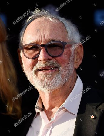 """Norman Jewison, director of the 1967 film """"In the Heat of the Night,"""" poses before a 50th anniversary screening of the film on the opening night of the 2017 TCM Classic Film Festival at the TCL Chinese Theatre, in Los Angeles"""