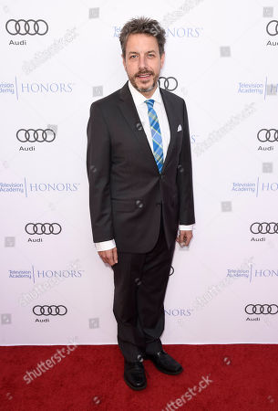 John Ross Bowie arrives at the 2017 Television Academy Honors at the Montage Hotel, in Beverly Hills, Calif