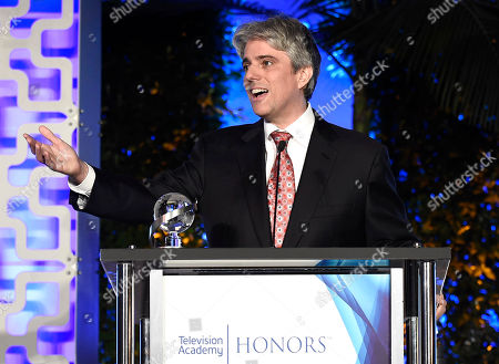 "Scott Silveri accepts the Television Academy Honors Award for ""Speechless"" at the 2017 Television Academy Honors at the Montage Hotel, in Beverly Hills, Calif"