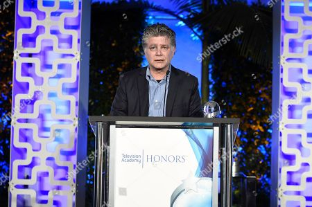 "Steve Zaillian accepts the Television Academy Honors Award for ""The Night Of"" at the 2017 Television Academy Honors at the Montage Hotel, in Beverly Hills, Calif"
