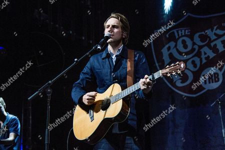 Ben Rector performs on board the Norwegian Jade during day one of the Rock Boat cruise on in Miami