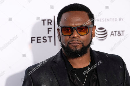 """Carl Thomas attends the """"Can't Stop, Won't Stop: The Bad Boy Story"""" premiere during the 2017 Tribeca Film Festival, in New York"""