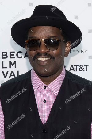 """Fab 5 Freddy attends the """"Can't Stop, Won't Stop: The Bad Boy Story"""" premiere during the 2017 Tribeca Film Festival, in New York"""