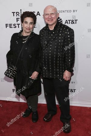 "Stock Image of Susan Posen, left, and Stephen Posen attend a screening of ""House of Z"" at the SVA Theatre during the 2017 Tribeca Film Festival,, in New York"