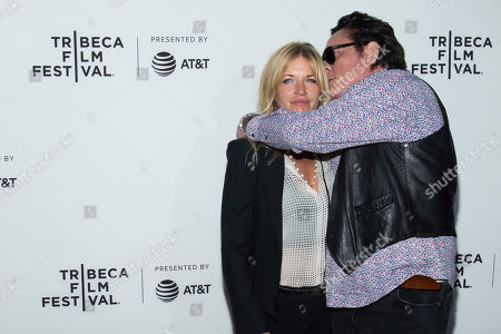 """Stock Picture of DeAnna Madsen and Michael Madsen attend the """"Reservoir Dogs"""" 25th anniversary screening during the 2017 Tribeca Film Festival, in New York"""