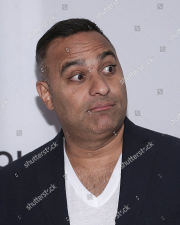 "Comedian Russell Peters attends a screening of ""The Clapper"" at the SVA Theatre during the 2017 Tribeca Film Festival on in New York"