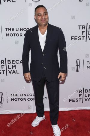 """Comedian Russell Peters attends a screening of """"The Clapper"""" at the SVA Theatre during the 2017 Tribeca Film Festival on in New York"""