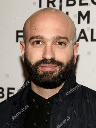 """Antonio Campos attends the screening of """"The Sinner"""", during the 2017 Tribeca Film Festival, at SVA Theater, in New York"""