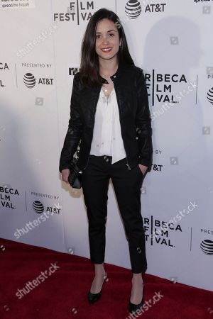 """Actress Claudia Gusmano attends a screening of """"Viola, Franca"""" at Regal Battery Park Stadium 11 during the 2017 Tribeca Film Festival on in New York"""