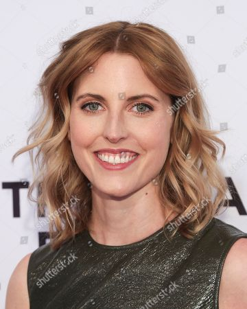 """Stock Image of Actress Diana Irvine attends a screening of """"The Boy Downstairs"""" at the SVA Theatre during the 2017 Tribeca Film Festival on in New York"""