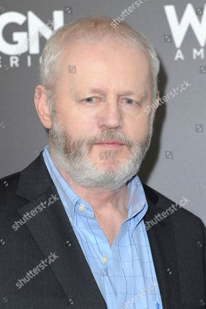 "David Morse attends a photo call for WGN America's ""Outsiders"" at the CTAM portion of the 2017 Winter Television Critics Association press tour, in Pasadena, Calif"