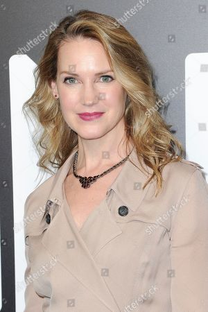 """Stock Photo of Francie Swift attends a photo call for WGN America's """"Outsiders"""" at the CTAM portion of the 2017 Winter Television Critics Association press tour, in Pasadena, Calif"""