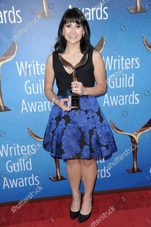 Vera Herbert attends the 2017 Writers Guild Awards at the Beverly Hilton Hotel on Sunday, Feb.19, 2017, in Beverly Hills, Calif