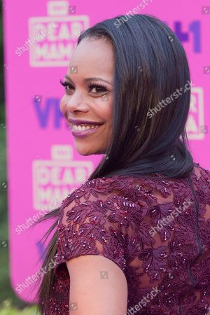 "LaTina Webb arrives at the 2nd Annual ""Dear Mama: An Event To Honor Moms"", in Pasadena, Calif"