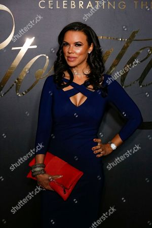 Stock Image of Shamicka Lawrence arrives at the 2nd Annual EBONY Magazine and iTunes Movies Pre-Oscars Celebration at Delilah, in West Hollywood, Calif