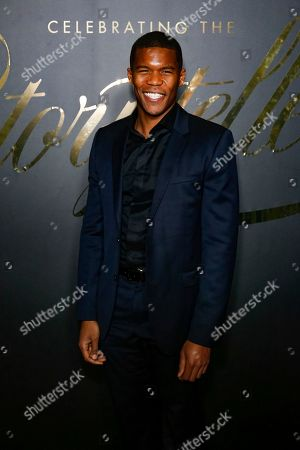 Gaius Charles arrives at the 2nd Annual EBONY Magazine and iTunes Movies Pre-Oscars Celebration at Delilah, in West Hollywood, Calif