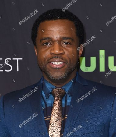 """Stock Picture of Kevin Hanchard attends the 34th annual PaleyFest: """"Orphan Black"""" event at the Dolby Theatre, in Los Angeles"""