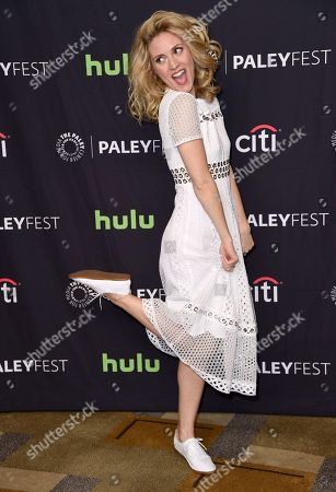 """Evelyne Brochu attends the 34th annual PaleyFest: """"Orphan Black"""" event at the Dolby Theatre, in Los Angeles"""