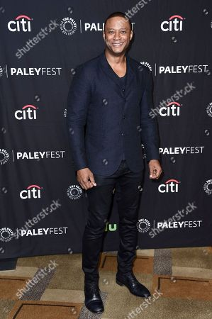 "David Ramsey attends the 34th annual PaleyFest: ""CW's Heroes & Aliens"" event at the Dolby Theatre, in Los Angeles"