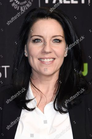 "Andrea Parker attends the 34th annual PaleyFest: ""Pretty Little Liars"" event at the Dolby Theatre, in Los Angeles"