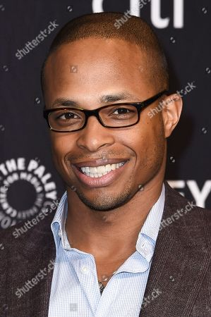 "Stock Photo of Cornelius Smith Jr. attends the 34th annual PaleyFest: ""Scandal"" event at the Dolby Theatre, in Los Angeles"