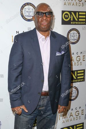 Vince Wilburn Jr. arrives at the 48th NAACP Image Awards Nominees' Luncheon at the Loews Hollywood Hotel, in Los Angeles