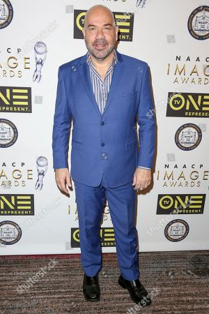 Jason Stuart arrives at the 48th NAACP Image Awards Nominees' Luncheon at the Loews Hollywood Hotel, in Los Angeles