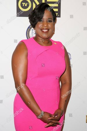 Roslyn M. Brock arrives at the 48th NAACP Image Awards Nominees' Luncheon at the Loews Hollywood Hotel, in Los Angeles