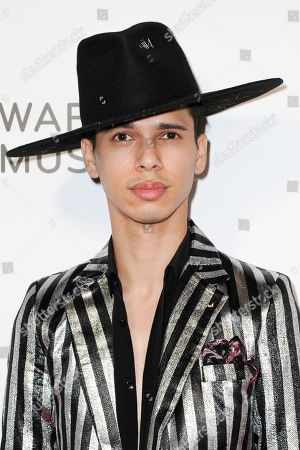 Spencer Ludwig attends the Warner Music Group Grammy after party at Milk Studios, in Los Angeles