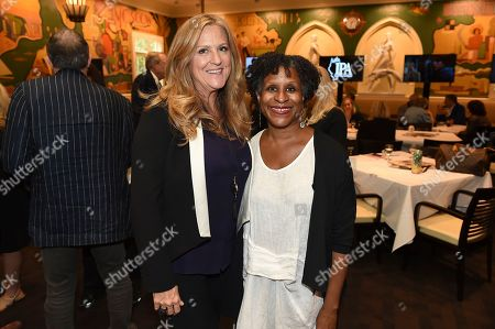 PGA President Lori McCreary and Managing Director, PGA East Michelle Byrd attend the 9th annual Produced By Conference at Twentieth Century Fox on in Los Angeles